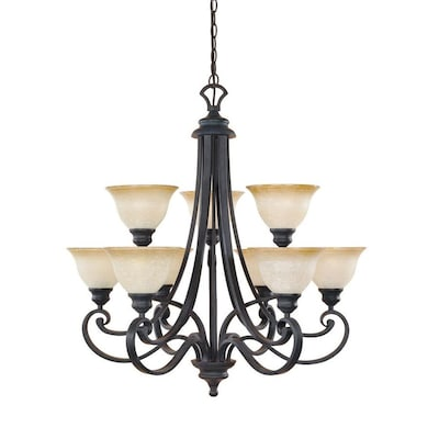 Designers Fountain Barcelona 9 Light Chandelier At Lowes