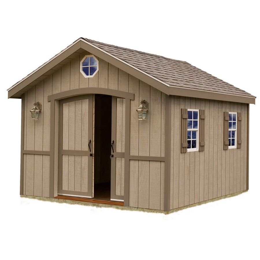 Shop Best Barns Common 10 Ft X 12 Ft Interior