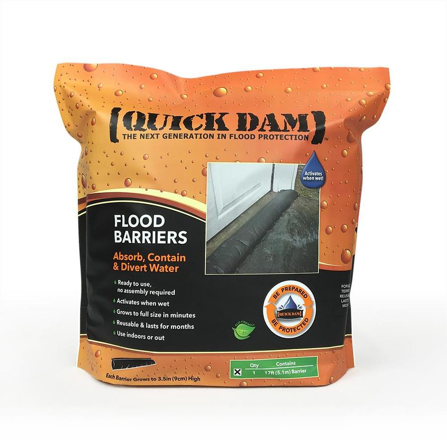 Quick Dam 17-ft L x 6-in W Self-Inflating Flood Bag