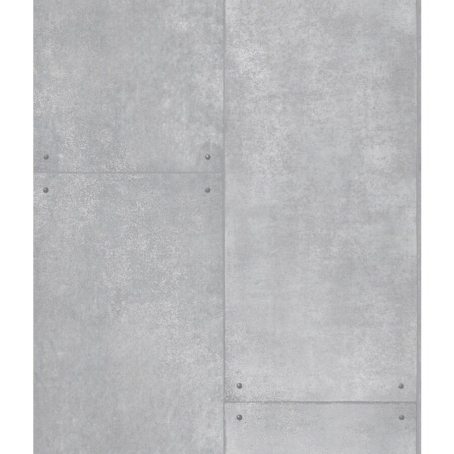 Tempaper Silver Vinyl Wallpaper
