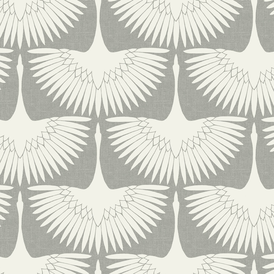 Tempaper Genevieve Gorder Chalk Vinyl Birds Wallpaper