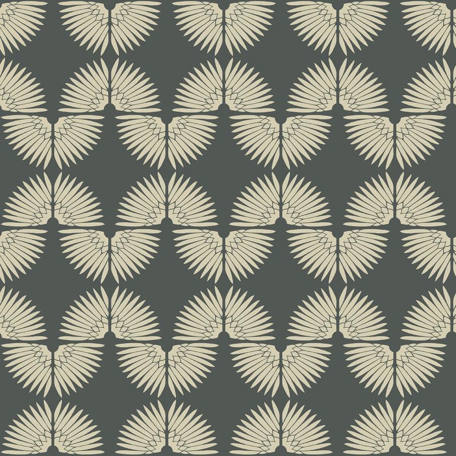 Tempaper Genevieve Gorder Angel White Vinyl Abstract Wallpaper
