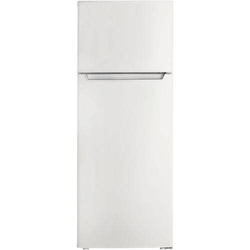 Danby Danby Energy Star 7 3 Cu Ft Built In Top Freezer Refrigerator White Energy Star In The Top Freezer Refrigerators Department At Lowes Com