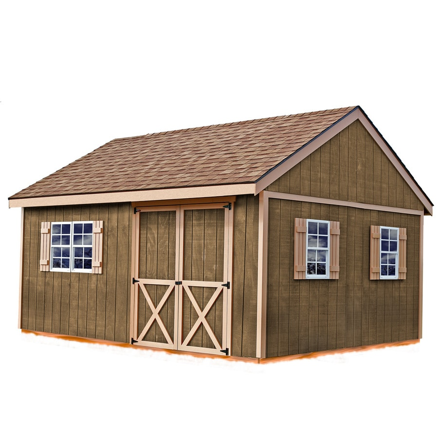 Best Barns Common 12 Ft X 16 Interior Dimensions 11 42 15 17 New Castle Without Floor Gable Engineered Storage Shed Installation Not