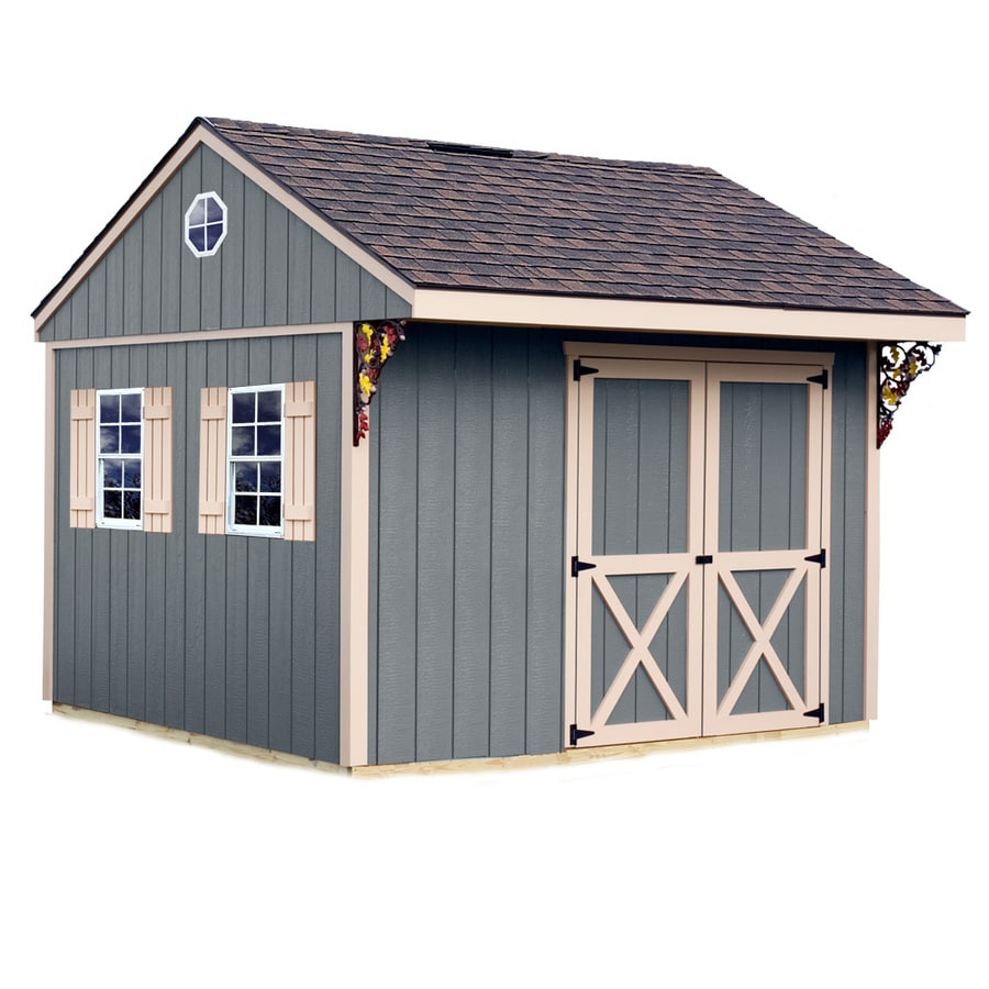 shop best barns common 10 ft x 10 ft interior