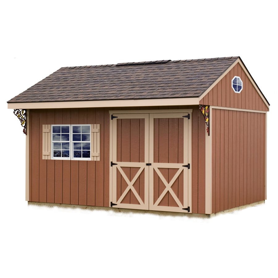 Shop Best Barns Common 10 Ft X 14 Ft Interior