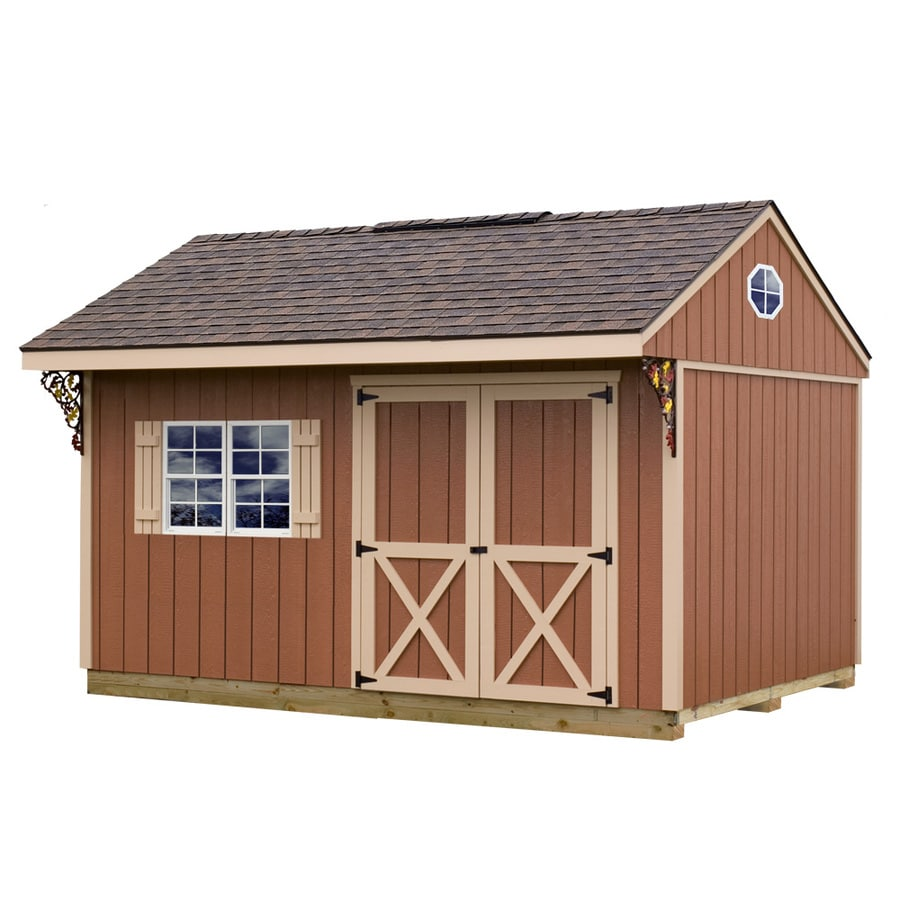 Shop best barns common 10 ft x 14 ft interior for Garden shed installation