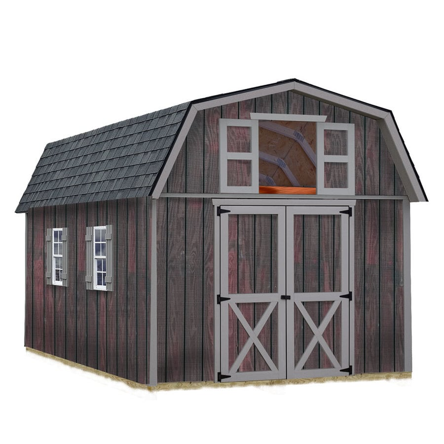 Shop best barns common 10 ft x 16 ft interior for Barn storage shed