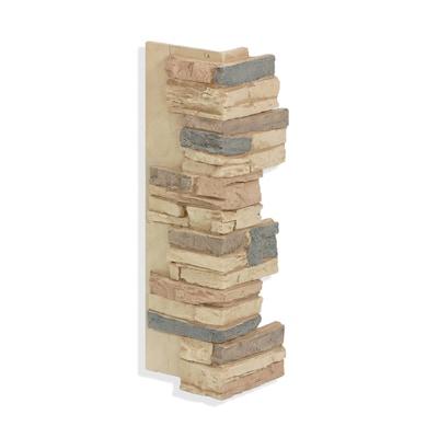 Antico Elements Faux Brick Panels 3 Sq Ft Cuccino