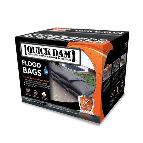 Quick Dam 20 Pack 24 In L X 12 In W Self Inflating