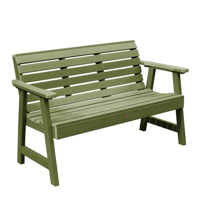 Groovy Highwood Weatherly Garden Bench 4Ft At Lowes Com Ibusinesslaw Wood Chair Design Ideas Ibusinesslaworg
