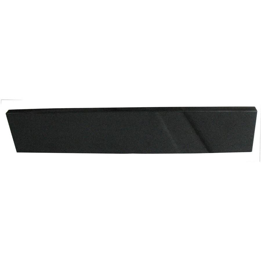 allen + roth 20.5-in L Black, Silver White Bathroom Side Splash