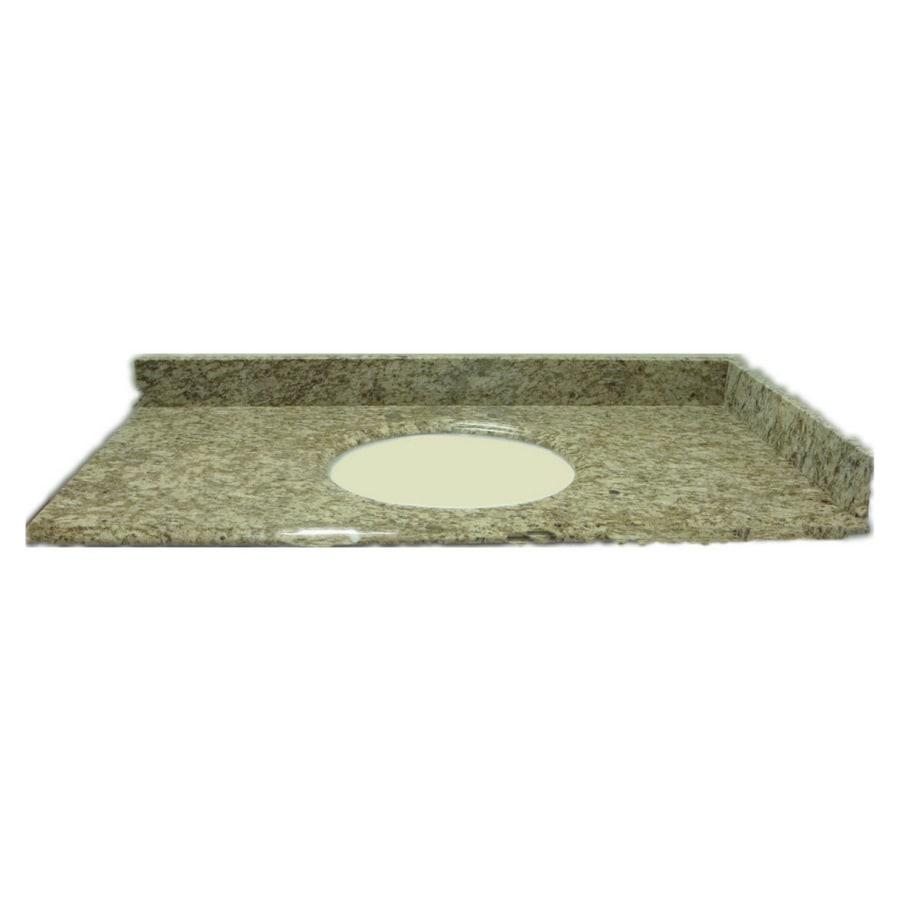 Allen Roth Santa Cecilia Granite Undermount Bathroom