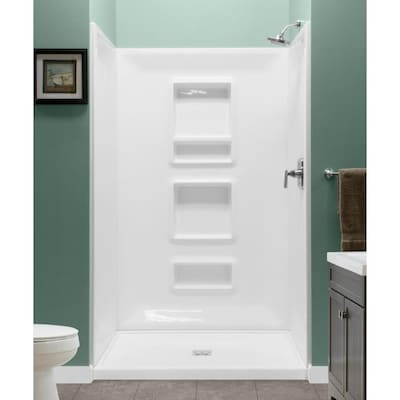 Acrylic Shower Wall Surrounds At Lowes