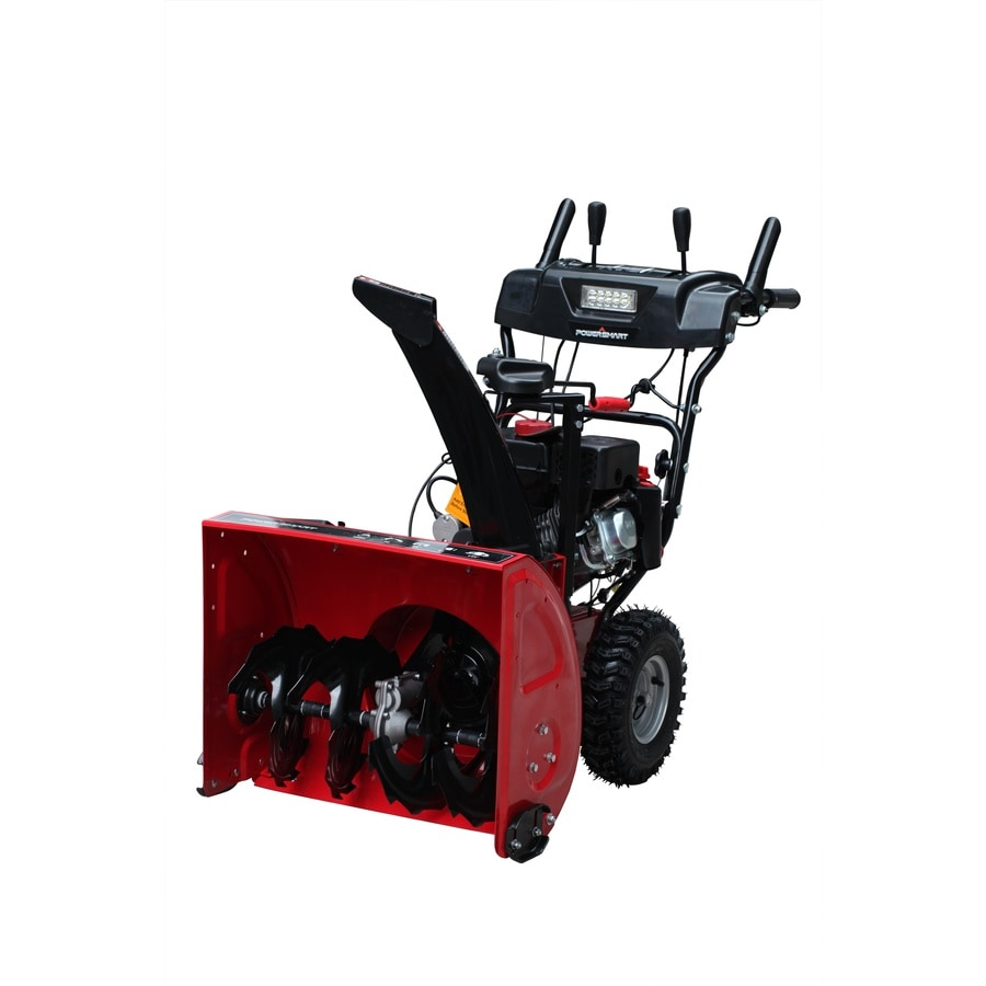 Shop Power Smart 208-cc 24-in Two-Stage Electric Start Gas ...