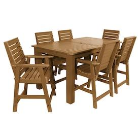 Fabulous Bar Height Patio Furniture Sets At Lowes Com Inzonedesignstudio Interior Chair Design Inzonedesignstudiocom
