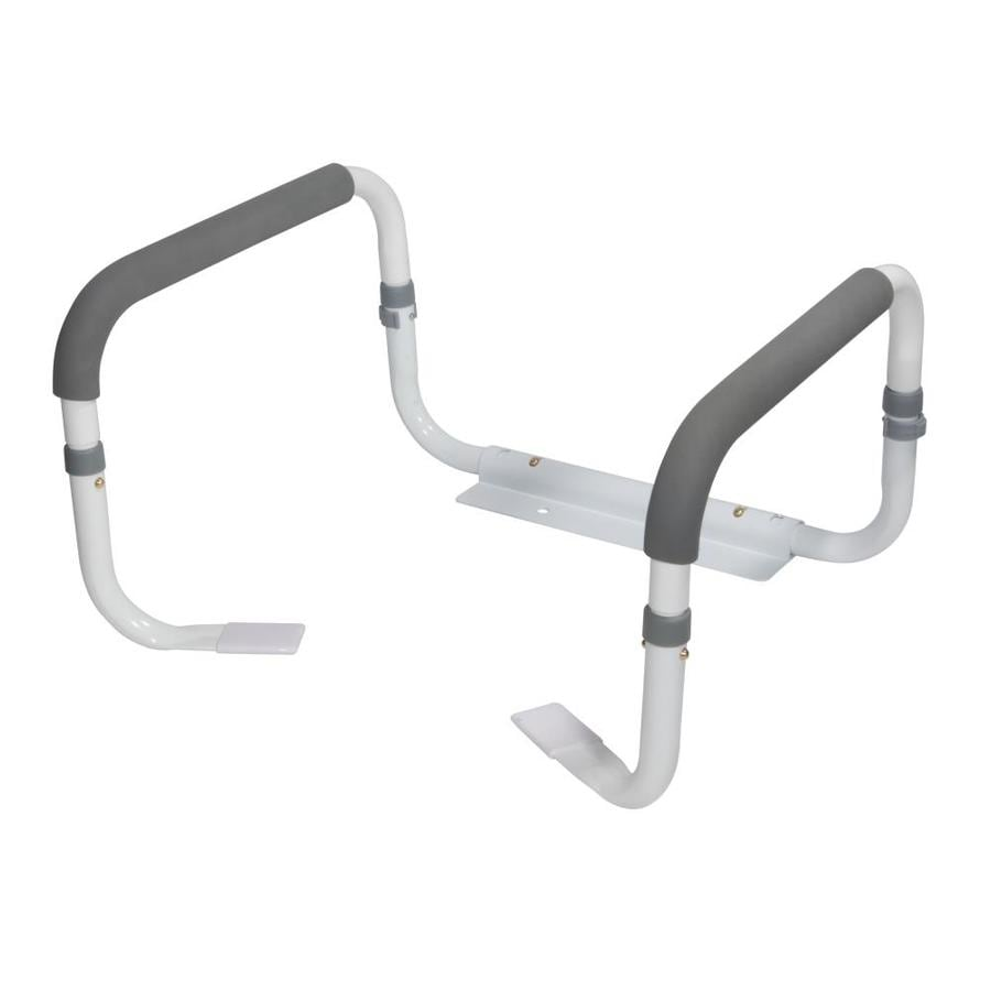 Drive Medical White Toilet Safety Rails At Lowes Com