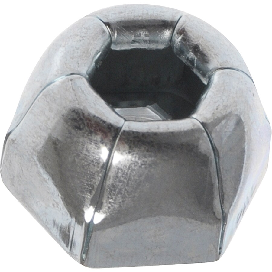 Hillman 16-Count 3/16-in Zinc-Plated Axle Cap Nuts