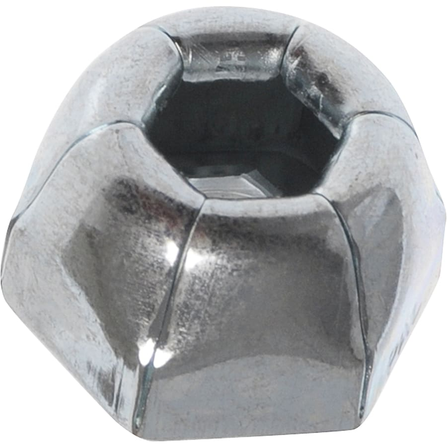 Hillman 10-Count 1/4-in Zinc-Plated Axle Cap Nuts