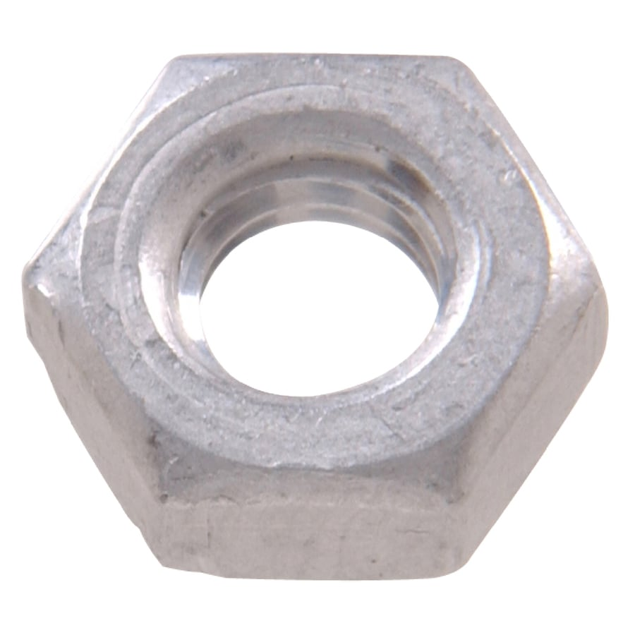 Hillman 34-Count 1/4-in Aluminum Standard (SAE) Hex Nuts