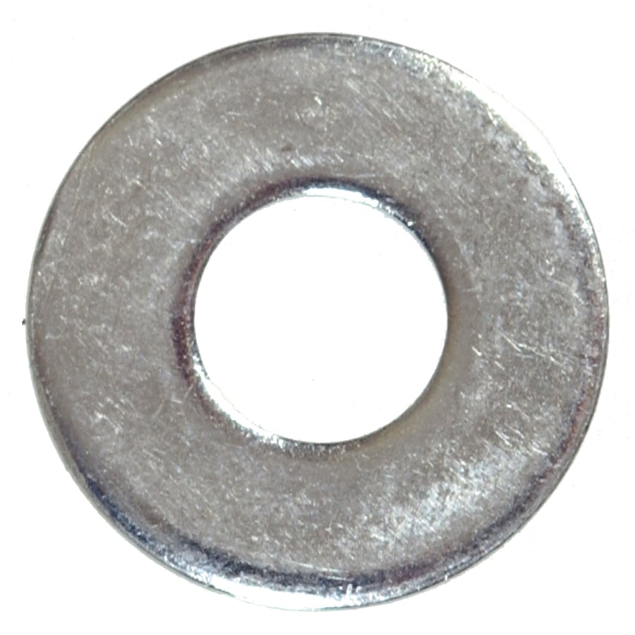 Hillman 100-Count 3/16-in x 7/16-in Zinc Plated Standard (SAE) Flat Washers