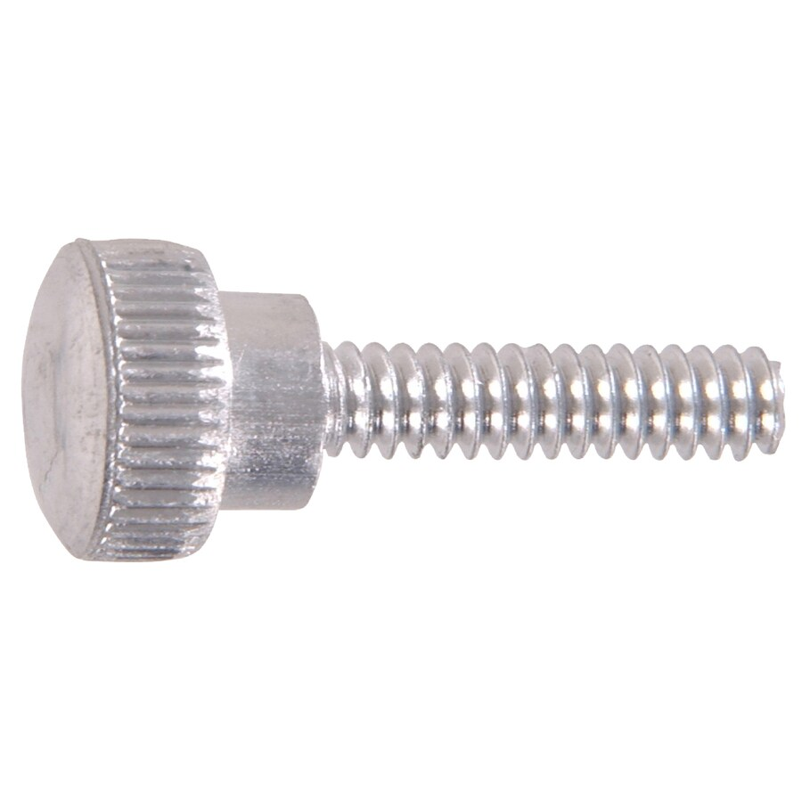 The Hillman Group 48-Count #8 to 32 x 0.5625-in Thumb-Head Zinc-Plated Thumbscrew-Drive Standard (SAE) Machine Screws