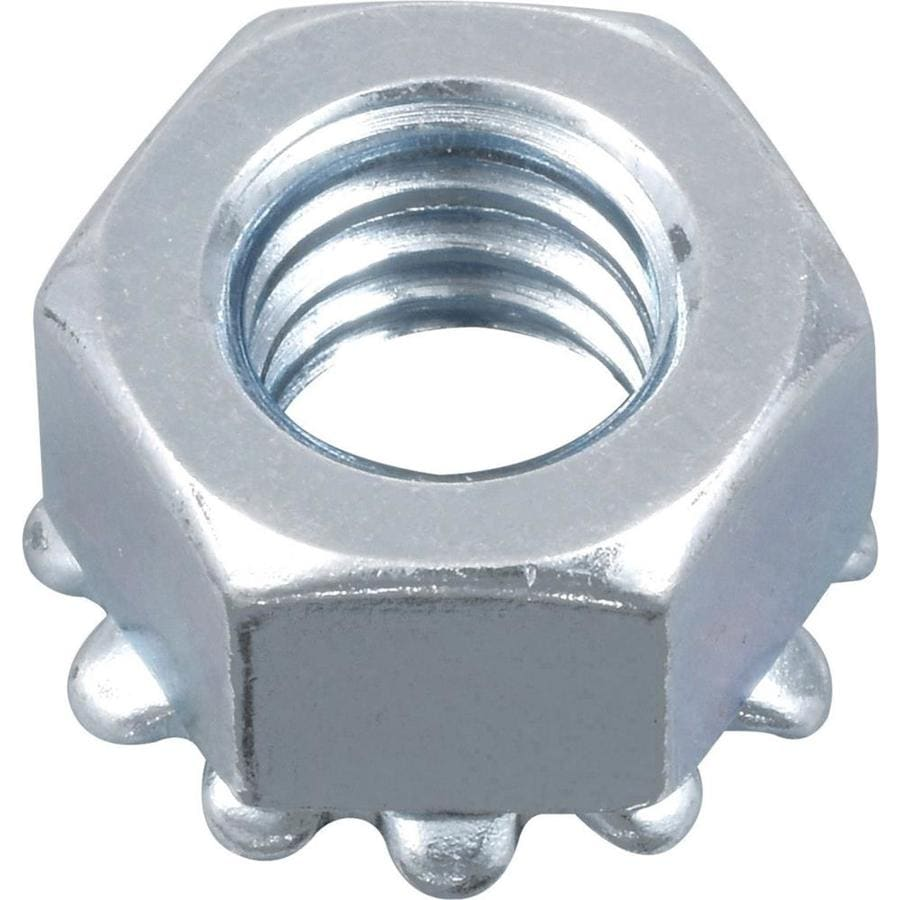 Hillman 20-Count #10 Zinc-Plated Standard (SAE) Keps Lock Nuts