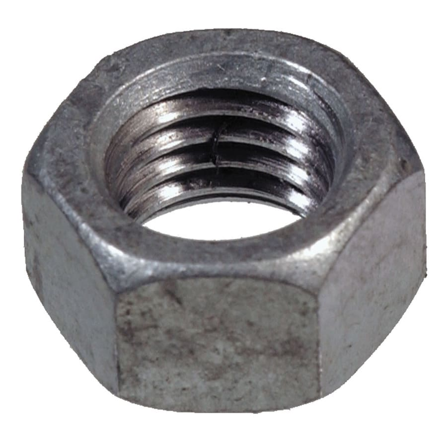 The Hillman Group 8-Count 7/16-in Stainless Steel Standard (SAE) Hex Nuts