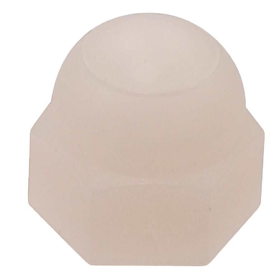 Hillman 10-Count #6 Nylon Standard (SAE) Cap Nuts