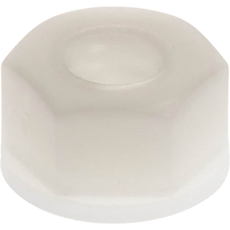 Hillman 10-Count #8 Nylon Standard (SAE) Nylon Insert Lock Nuts