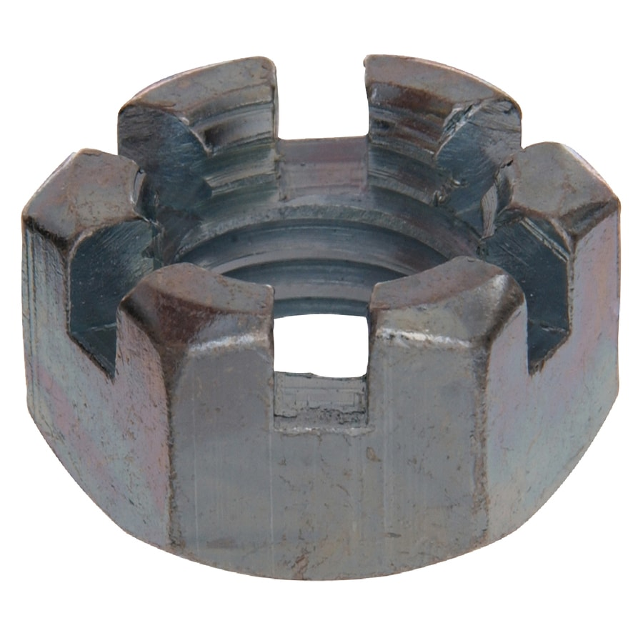 The Hillman Group 8-Count 9/16-in Zinc-Plated Standard (SAE) Hex Nuts