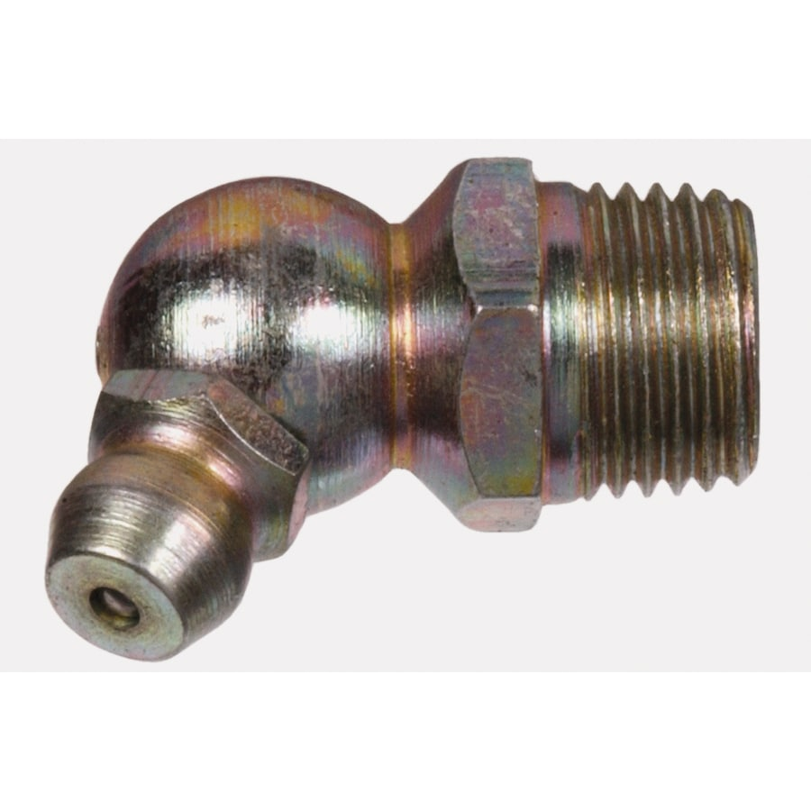 Hillman 1/4-28 45-Degree Button Head Parallel Grease Fitting