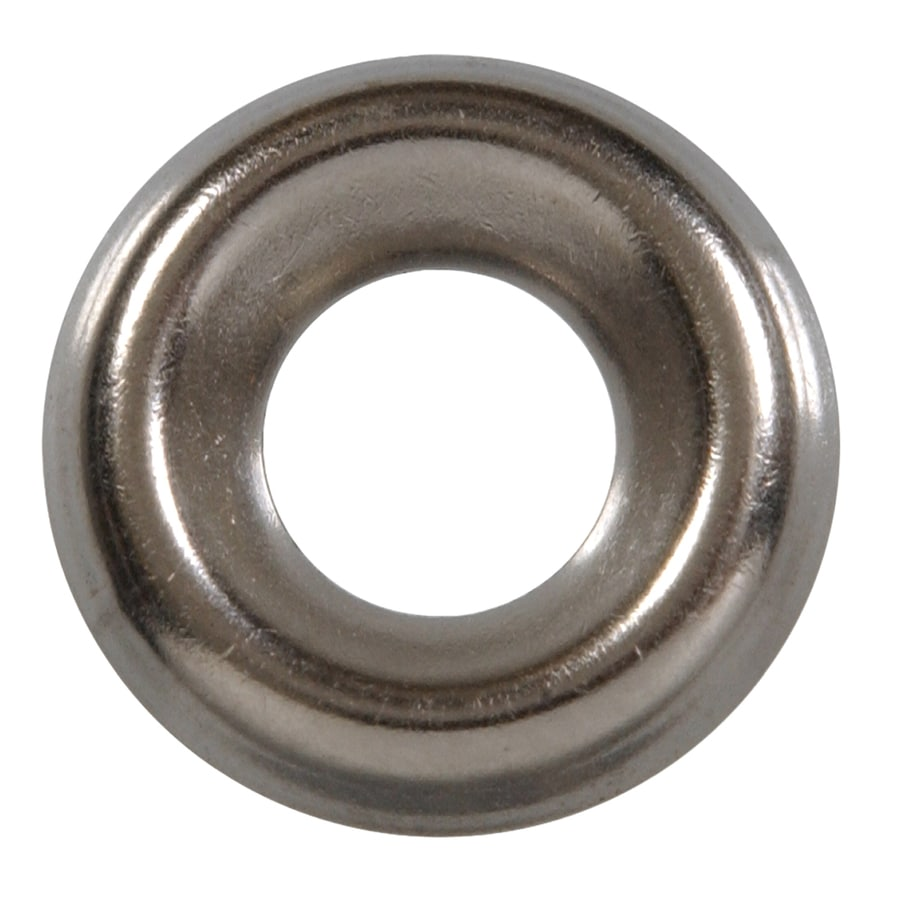 The Hillman Group 25-Count #12 Stainless Steel Standard (SAE) Finishing Washers