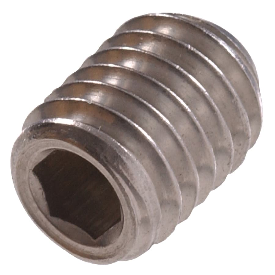 The Hillman Group 20-Count #10- 24 x 3/8-in Stainless Steel Cup-Point Allen-Drive Socket Cap Screws