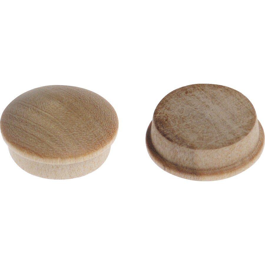 The Hillman Group 0.75-in Birch Wood Button Plug
