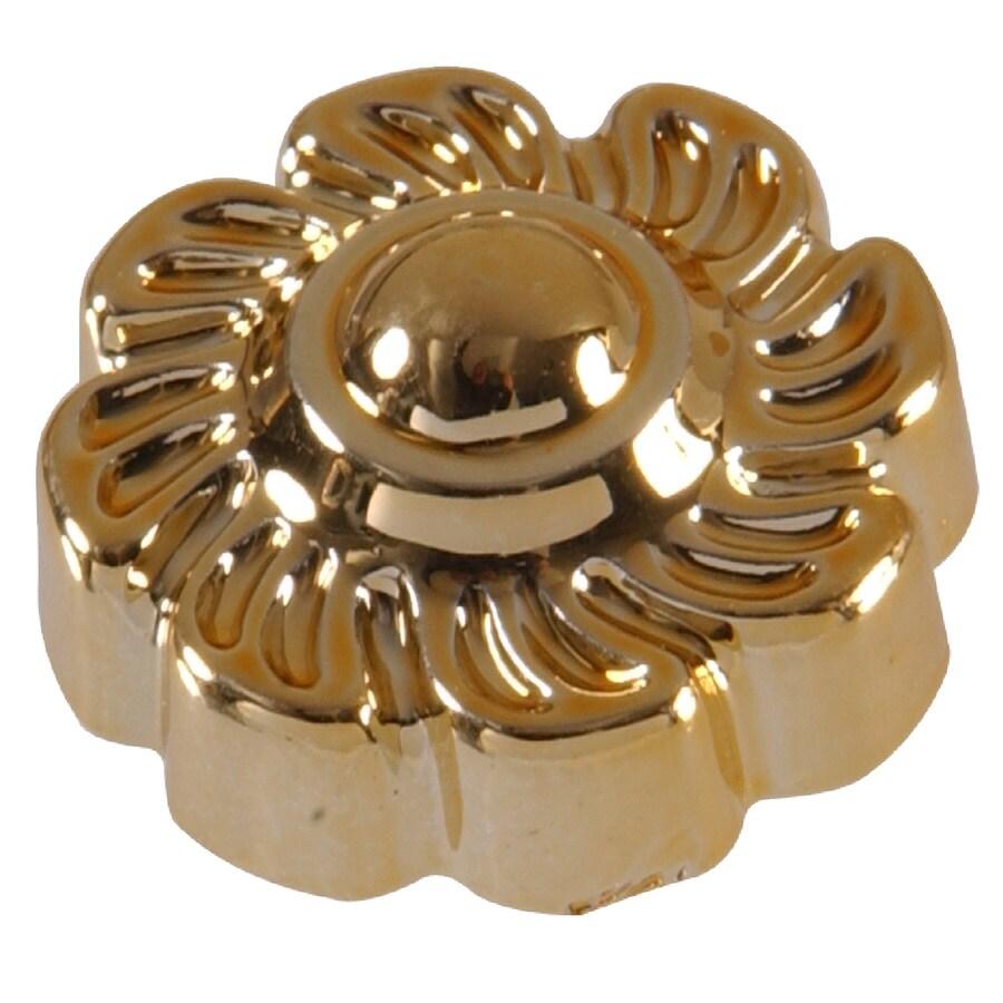Hillman 5-Pack Brass Lamp Finials