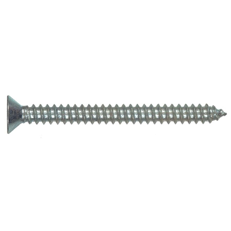 Hillman 100-Count #12 x 1.25-in Zinc-Plated Interior/Exterior Sheet Metal Screws