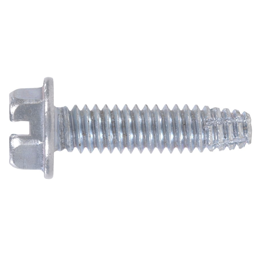 Hillman 100-Count #14 1/4-in x 1-in Zinc-Plated Thread-Cutting Interior/Exterior Sheet Metal Screws