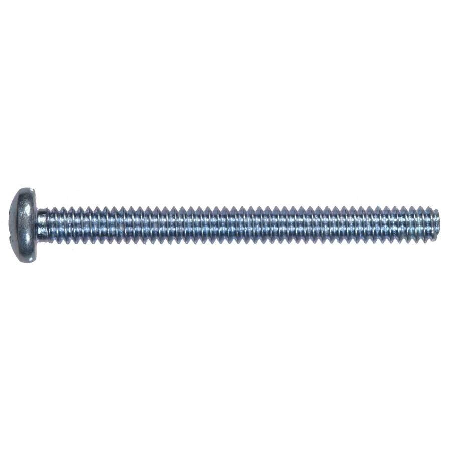 Hillman 100-Count #10- 32 x 1/2-in Zinc-Plated Phillips-Drive Standard (SAE) Machine Screws
