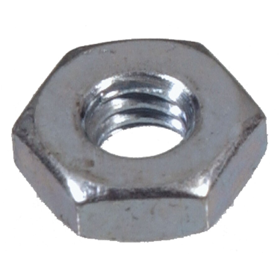 Hillman 100-Count #6 Zinc-Plated Standard (SAE) Hex Nuts