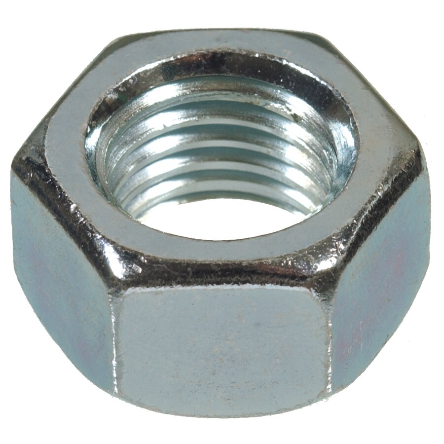 Hillman 50-Count 9/16-in Zinc-Plated Standard (SAE) Hex Nuts