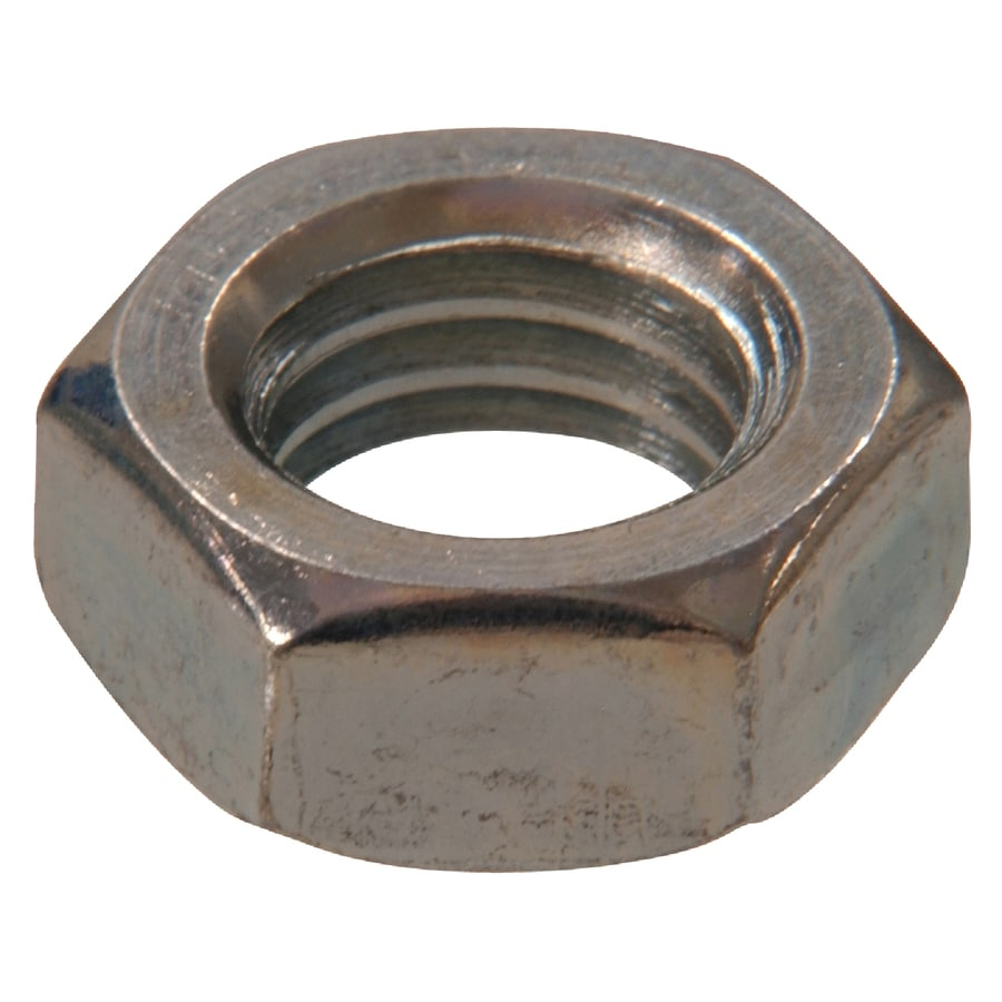 The Hillman Group 50-Count 7/16-in Zinc-Plated Standard (SAE) Jam Nuts