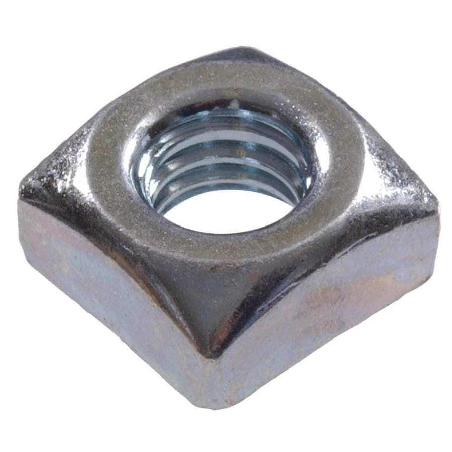 Hillman 100-Count #10 Zinc-Plated Steel Square Nuts