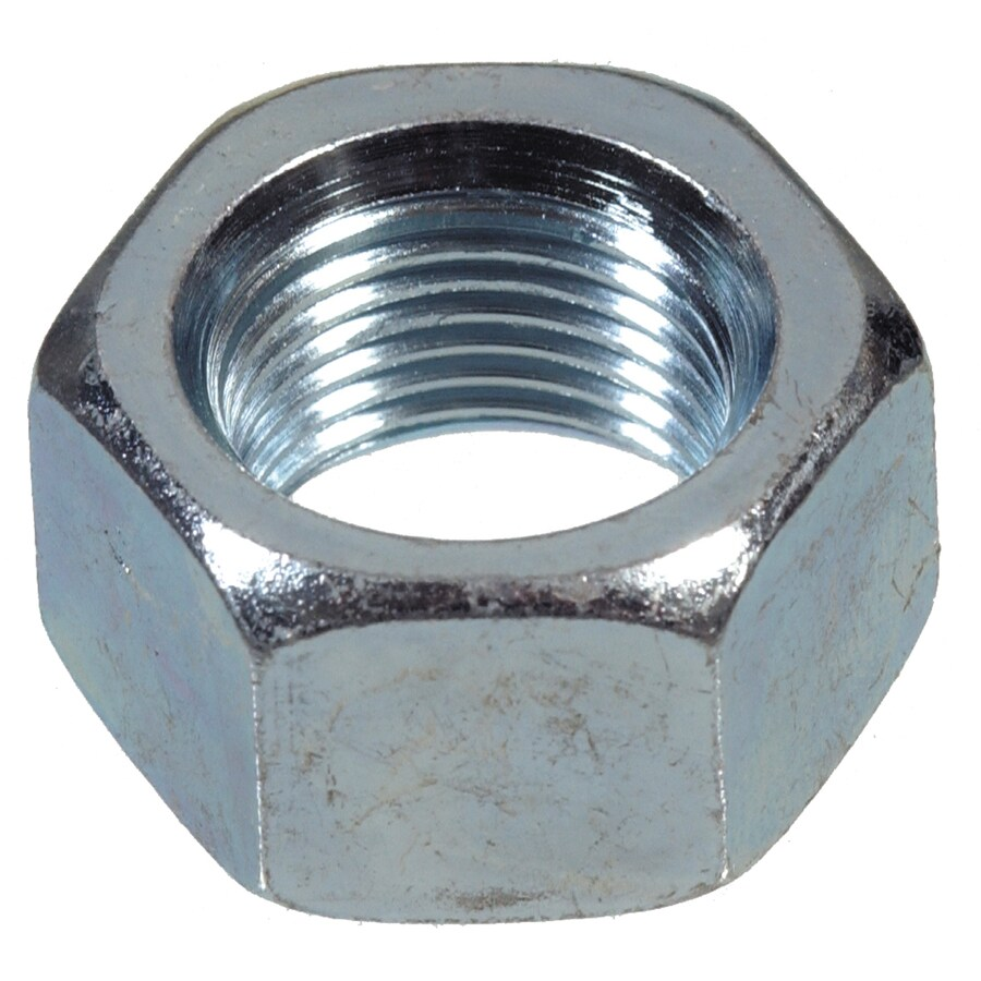 Hillman 10-Count 1-in Zinc-Plated Standard (SAE) Hex Nuts