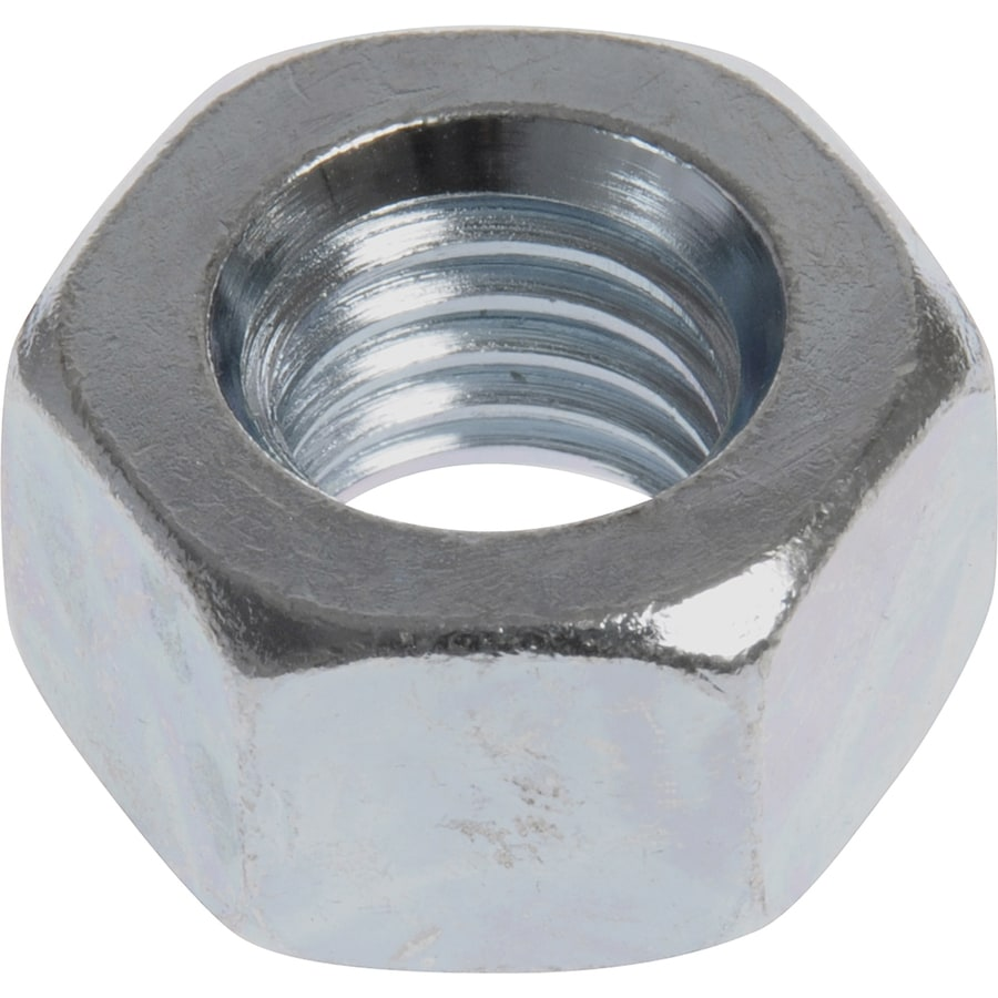 The Hillman Group 10-Count 1-1/8-in Zinc-Plated Standard (SAE) Hex Nuts