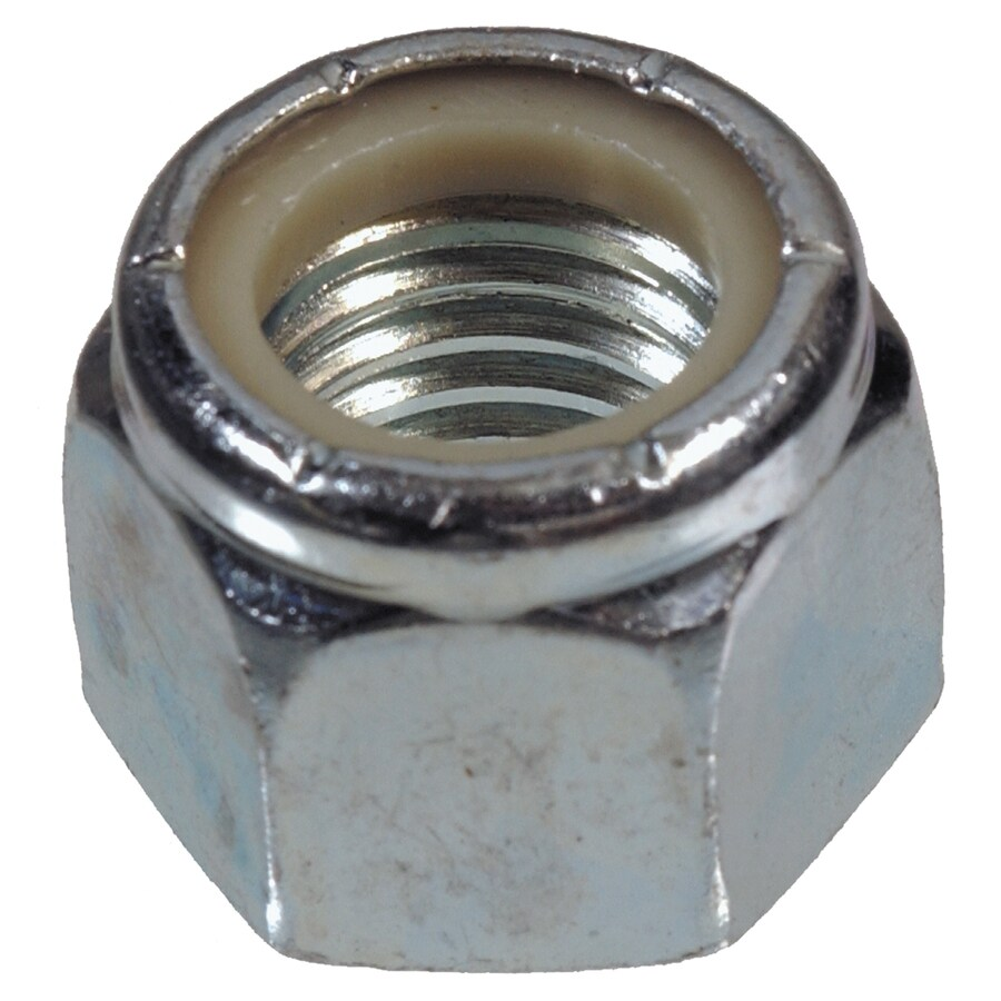 The Hillman Group 100-Count #12 Zinc-Plated Standard (SAE) Nylon Insert Lock Nuts
