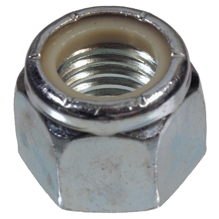 Hillman 10-Count 1-1/2-in Zinc-Plated Standard (SAE) Nylon Insert Lock Nuts