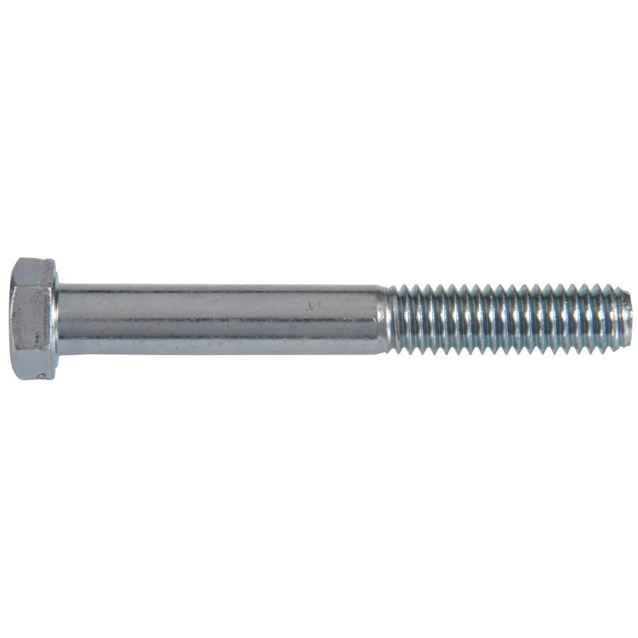 The Hillman Group 50-Count 7/16-in-14 x 3-in Zinc Plated Standard (SAE) Hex Bolts