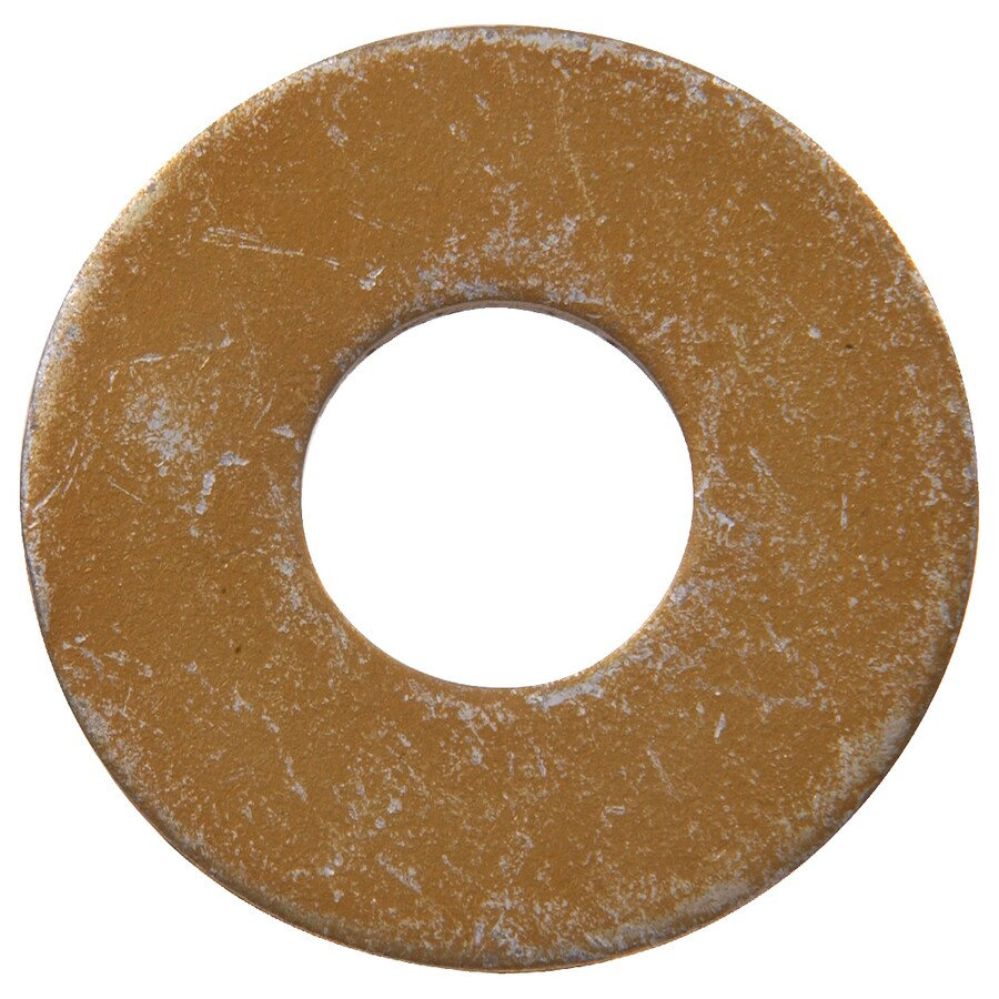 The Hillman Group 10-Count 1-in Yellow Zinc Standard (SAE) Flat Washers