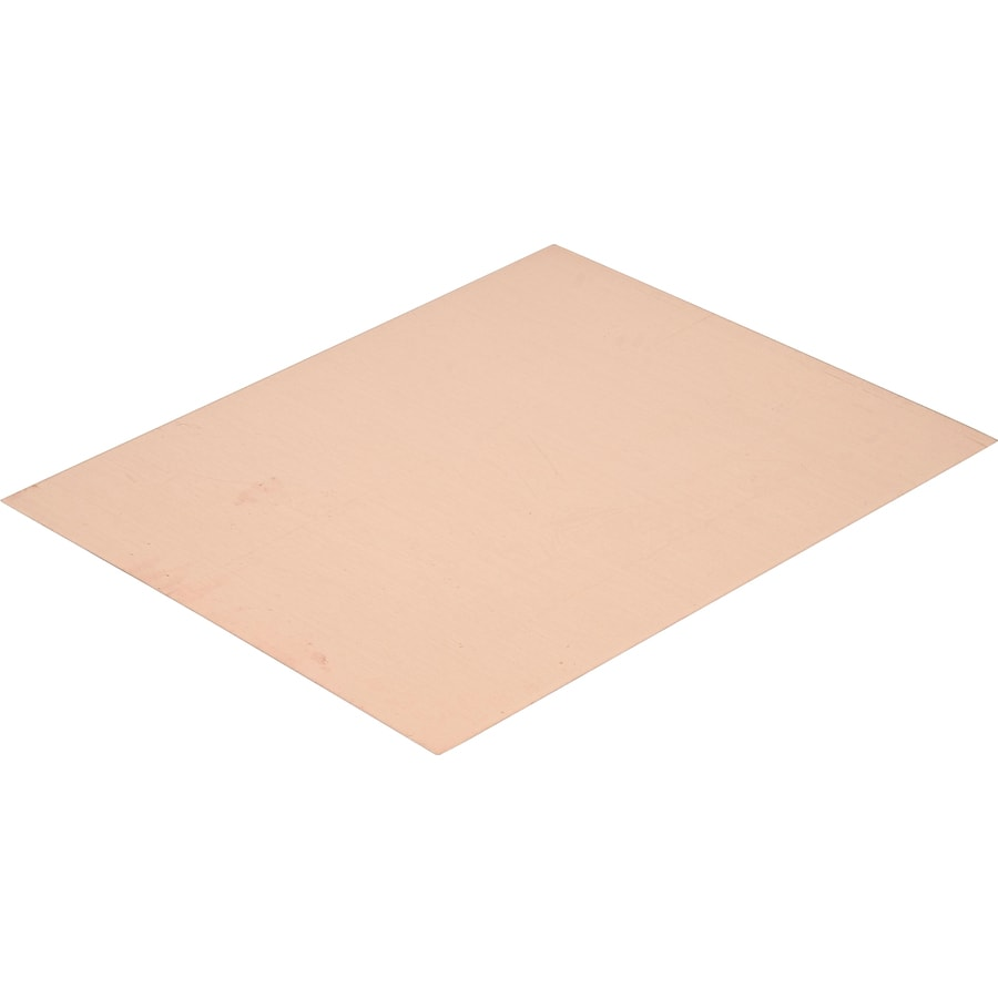 Shop Hillman 4 In X 0 416 Ft Copper Sheet Metal At Lowes Com